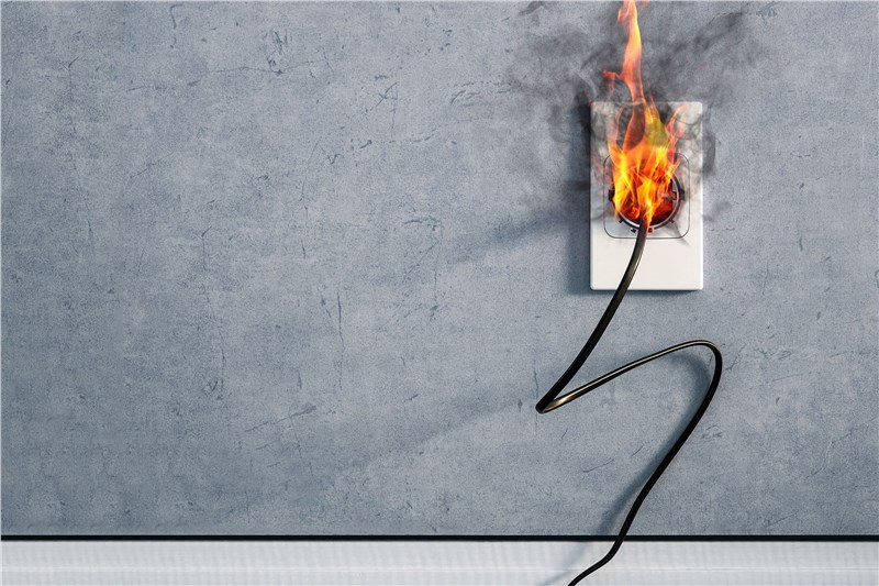 What to Do When an Electrical Outlet Starts Sparking?